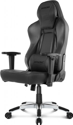 AKRacing, Gaming Chair Office - PU Leather Obsidian / Carbon Main Image