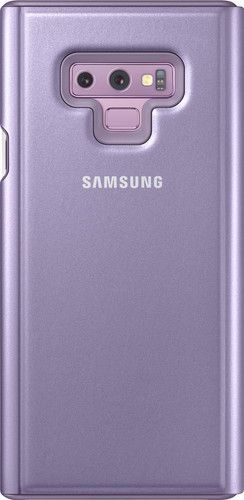 Samsung Galaxy Note 9 Clear View Stand Book Case Purple Main Image