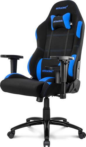 AKRacing, Gaming Chair Core EX Wide -  Zwart / Blauw Main Image