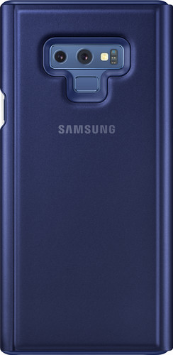 best loved d1d48 1f848 Samsung Galaxy Note 9 Clear View Stand Book Case Blue