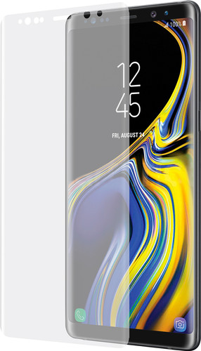 Azuri Samsung Galaxy Note 9 Curved Tempered Glass Transparent Main Image