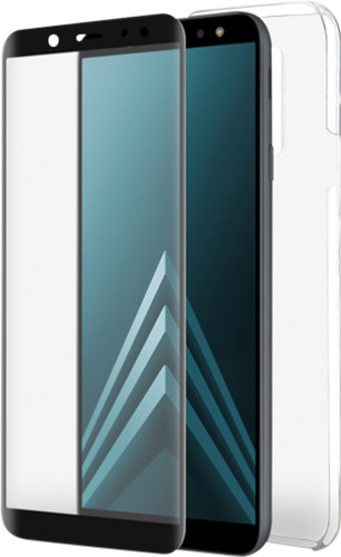 Azuri Protection Samsung Galaxy A6 (2018) Full Body Transparant Main Image