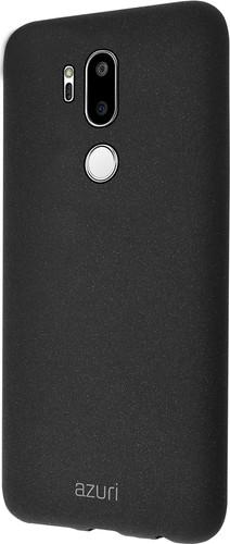 Azuri Flexible Sand LG G7 Back Cover Black Main Image