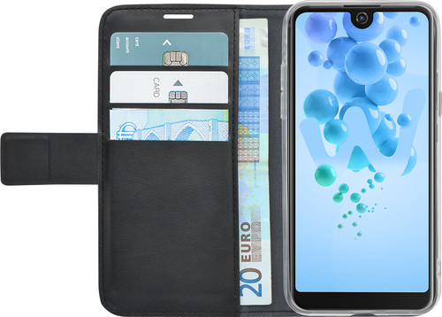 Azuri Wallet Magnet Wiko View Pro Book Case Black Main Image