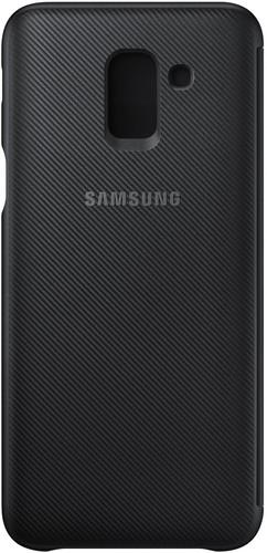 Samsung Galaxy J6 (2018) Wallet Cover Book Case Black Main Image