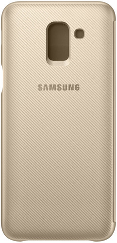 Samsung Galaxy J6 (2018) Wallet Cover Book Case Gold Main Image