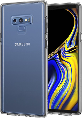 Spigen Liquid Crystal Samsung Galaxy Note 9 Back Cover Transparent Main Image