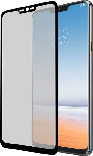 Azuri Curved Gehard Glas LG G7 Screenprotector Glas Zwart Main Image