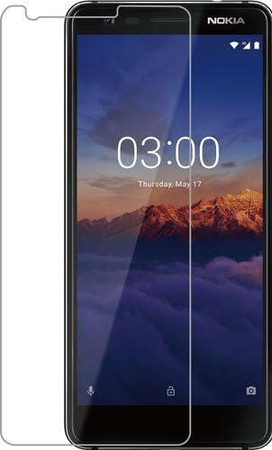 Azuri Gehard Glas Nokia 3.1 Screenprotector Glas Main Image