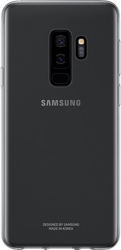 Samsung Galaxy S9 Plus Clear Back Cover Transparent Main Image