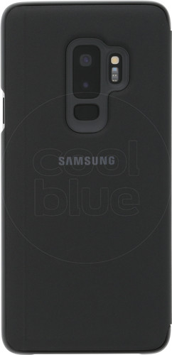 Samsung Galaxy S9 Plus Clear Stand View Cover Black Main Image