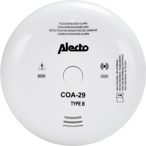 Alecto COA-29/7 Koolmonoxide melder met 7 jaar sensor Main Image