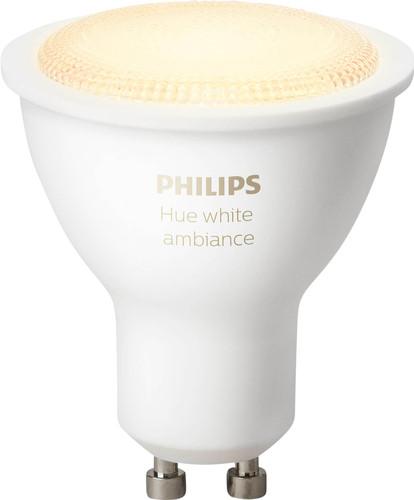 Philips Hue White Ambiance GU10 Single Pack Main Image