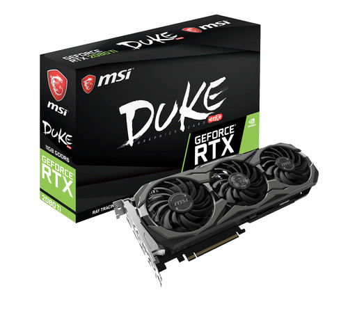MSI GeForce RTX 2080 Ti DUKE OC 11G Main Image