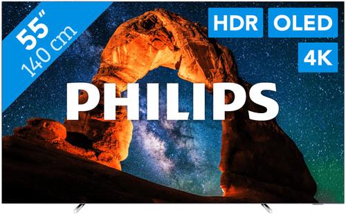 Philips 55OLED803 - Ambilight Main Image