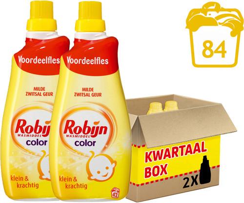 Robijn Klein & Krachtig Color Zwitsal - 2 stuks Main Image