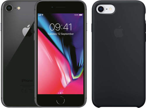 Apple iPhone 8 64GB Space Gray + Back Cover Main Image