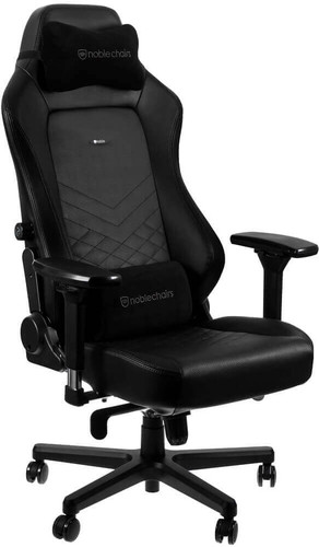 noblechairs HERO Gaming Stoel Zwart Main Image