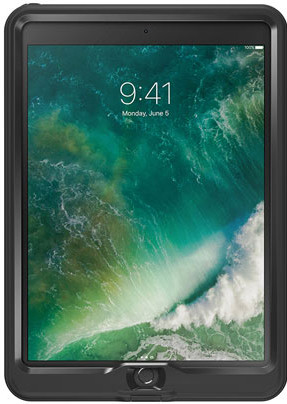 LifeProof Nuud Apple iPad Air (2019) & iPad Pro 10.5 (2017) Black Main Image