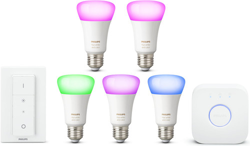 Philips Hue White & Color Starter Kit + E27 Duo Pack Main Image