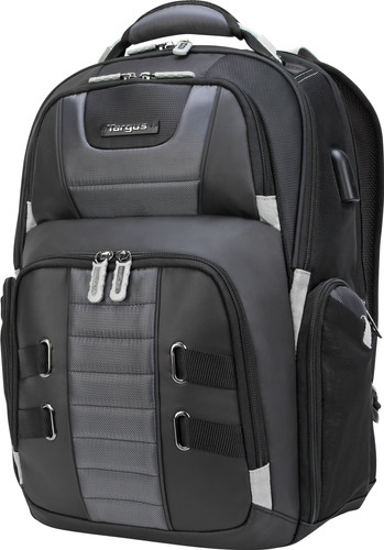 Targus DrifterTrack 17.3 USB Laptop Backpack Black Main Image