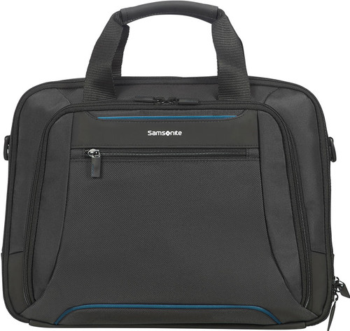 Samsonite Color shoulder bag 14.1 inch Black Main Image