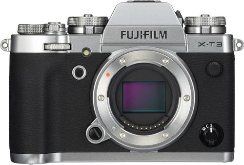 Fujifilm X-T3 Body Zilver Main Image