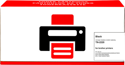 Pixeljet TN-2220 Toner Cartridge Black XL for Brother printers (TN-2220) Main Image