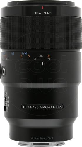 Sony FE 90mm f/2.8 Macro G OSS Main Image
