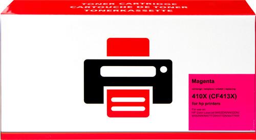 Pixeljet 410X Toner Cartridge Magenta XL for HP printers (CF413X) Main Image