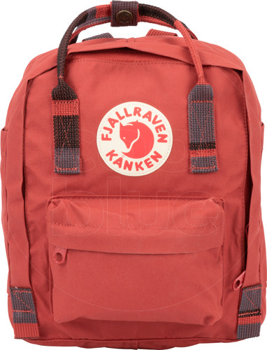 abdc96c582 Fjällräven Kånken Mini Deep Red-Random Blocked - Kids Backpack Main Image  ...