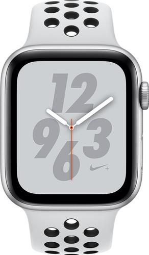 Apple Watch Series 4 44mm Nike+ Silver Aluminum/Sport Band Main Image