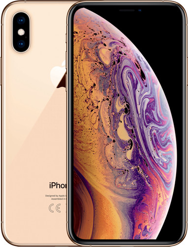 Apple iPhone Xs 512 GB Goud Main Image