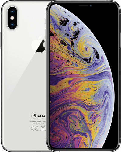 Apple iPhone Xs Max 512 GB Zilver Main Image