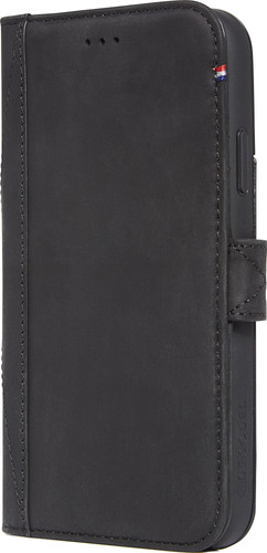 Decoded Leather Card Wallet Apple iPhone Xr Book Case Zwart Main Image