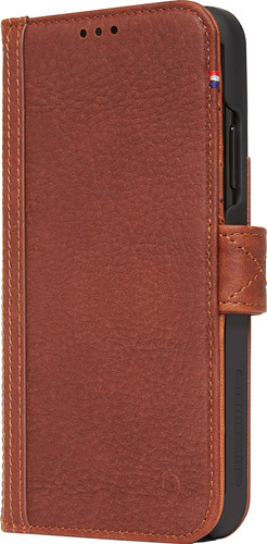 Decoded Leather Card Wallet Apple iPhone Xr Book Case Brown Main Image