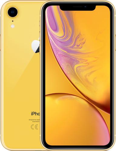 Apple iPhone Xr 256 GB Geel Main Image