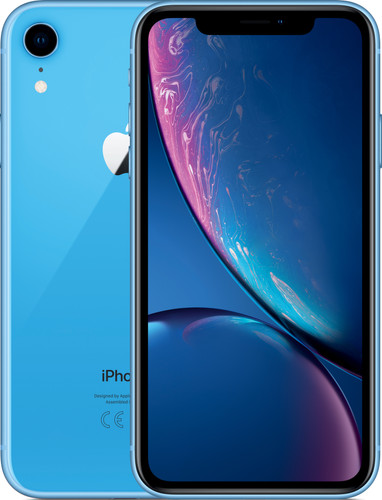 Apple iPhone Xr 128 GB Blauw Main Image