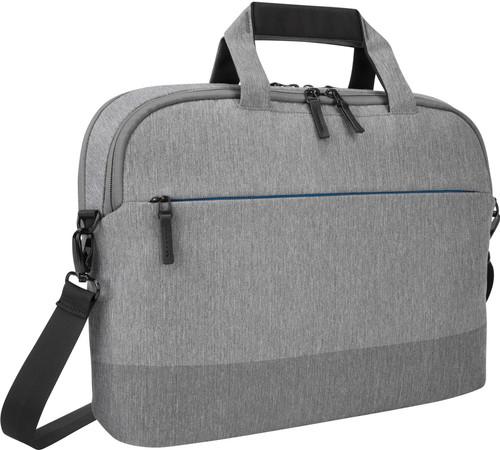 Targus CityLite 12-15.6 Slim Briefcase Laptop Case - Gray Main Image