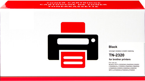 Pixeljet TN-2320 Toner Black for Brother printers Main Image