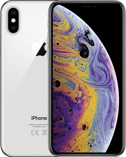 Apple iPhone Xs 256 GB Zilver Main Image