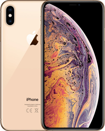 Apple iPhone Xs Max 512 GB Goud Main Image