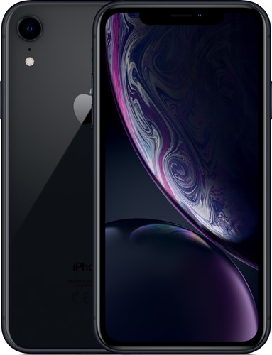 Apple iPhone Xr 256 GB Zwart Main Image