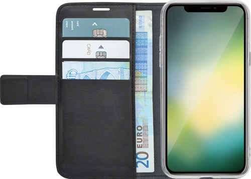 Azuri Wallet Magnet Apple iPhone Xr Book Case Black Main Image