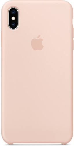 Apple iPhone Xs Max Silicone Case Pink Sand Main Image