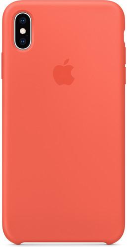 Apple iPhone Xs Max Silicone Case Nectarine Main Image