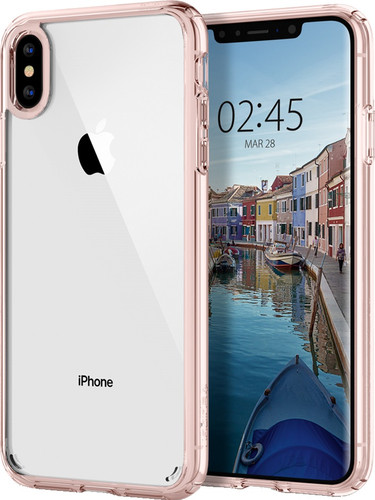 hot sales 74634 c9774 Spigen Ultra Hybrid Apple iPhone Xs Max Back Cover Pink