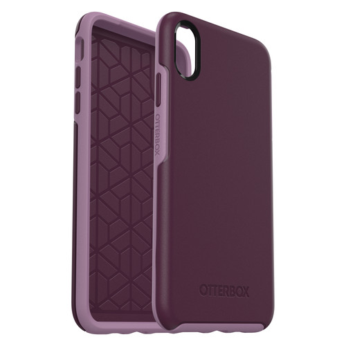 Otterbox Symmetry Apple iPhone Xs Max Back Cover Purple Main Image