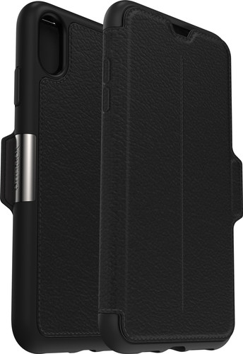 Otterbox Strada Apple iPhone Xs Max Book Case Black Main Image
