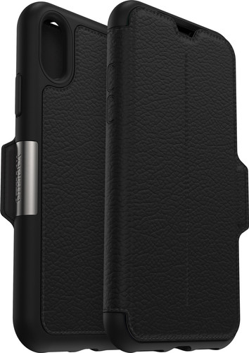 Otterbox Strada Apple iPhone Xs Book Case Black Main Image